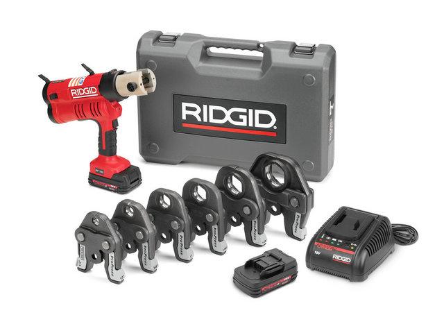 Пресс инструмент ridgid rp340b